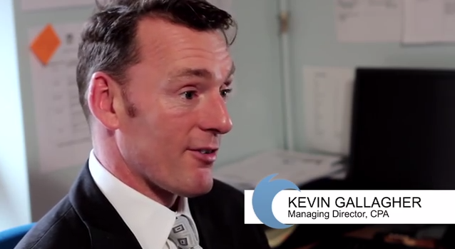 Kevin Gallagher, Managing Director of CPA video production company Birmingham