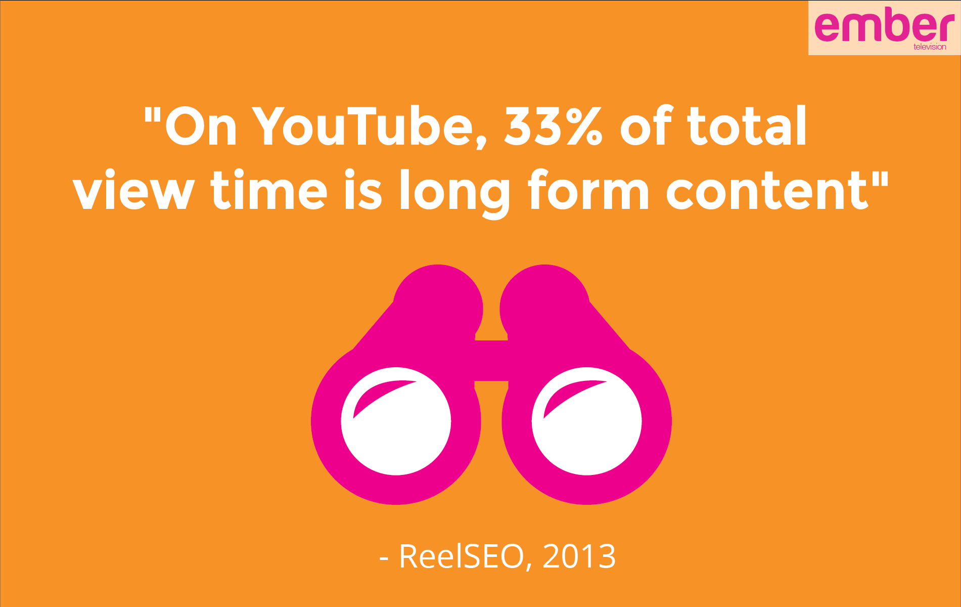 How long is too long? The value of long form video content - Ember ...